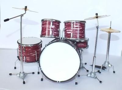 Miniaturowy zestaw perkusyjny Pink Floyd