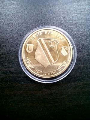 Moneta Legia Warszawa 6903418256 Oficjalne Archiwum Allegro