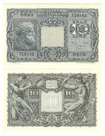 Włochy 10 Lirów 1944 P32c UNC 1