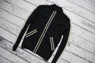ARMANI JEANS __ 100% COTTON __ZIP UP__ ITALY ___ L
