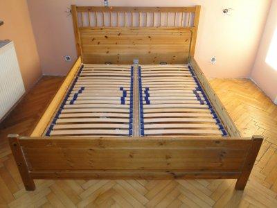 Ikea Hemnes łóżko Sypialnia łoże Materac Stelaż