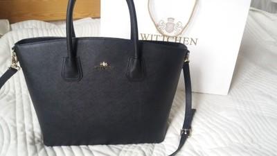 4c3f754cad721 Torebka Wittchen czarna shopper saffiano - 6767231868 - oficjalne ...
