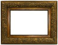 Stara drewniana rama zew 52x40,5 wew 36x24,5