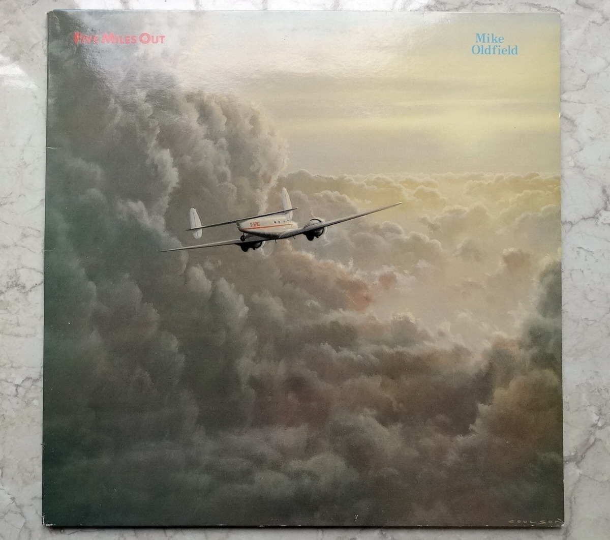 Mike Oldfield - Five Miles Out UK EX