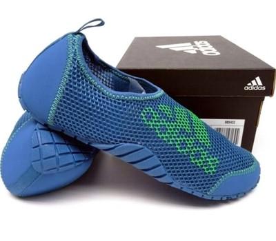 Adidas KUROBE K. Buty niebieskie, rozmiar 37 13   Sport
