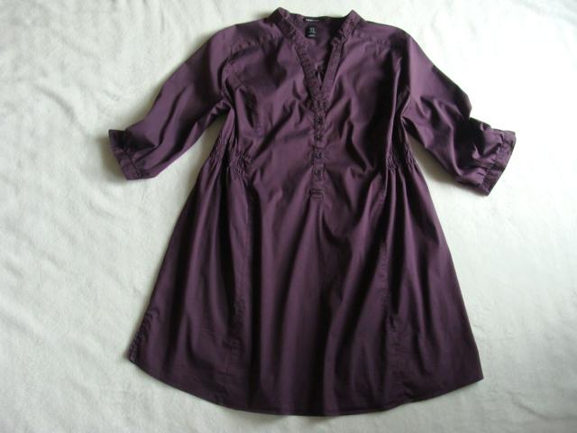 57f46ab5ca Koszula tunika ciążowa H M MAMA rozm XL - 7011321086 - oficjalne ...