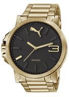 PUMA Ultrasize 50 Men's Quartz Watch with Black Di