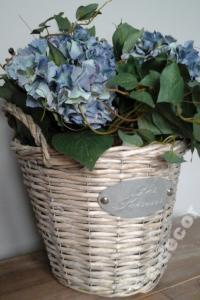 Hortensja W Doniczce Sztuczne Kwiaty Kompozycja 6675099531