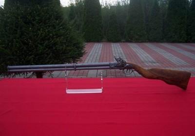 Piękna Replika Dubeltówki Skałkowej Czarnoprochowa