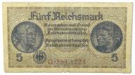 13.Niemcy, 5 Reichsmarek 1940-1945, St.3/4+