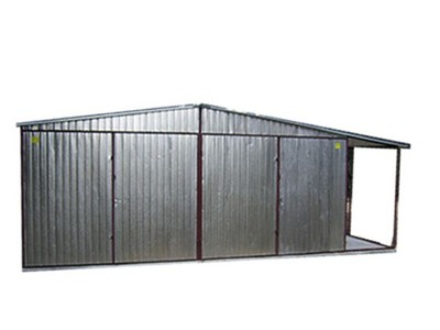 Garaż Blaszany 6x5 Dach Dwuspadowy Wiata G51 6682608190