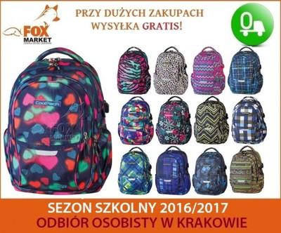 d9c3d97f18b4f Plecak młodzieżowy COOLPACK szkolny + GRATIS! - 6065785748 ...