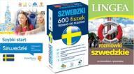 Szwedzki Szybki start + 600 fiszek + Rozmówki