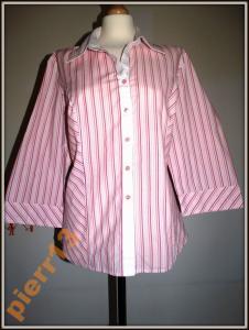 _M&S_Cudna modna koszula w paski do pracy_R.48