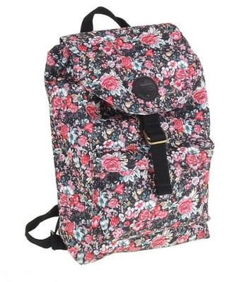vans plecak kwiaty