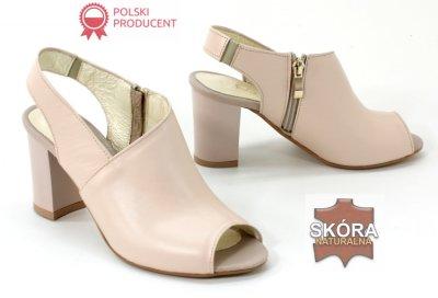 Złote polskie sandały damskie simen 773 r38 Zdjęcie na imgED