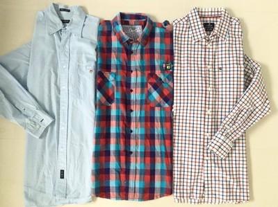 Koszula zestaw Gant,Abercrombie,U.S.Polo XL kurtka