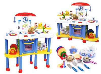 Duża Kuchnia Kuchenka Dla Dzieci Odgłosy Gotowania