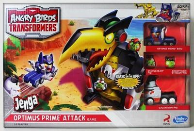 Hasbro Angry Birds Jenga Optimus Prime 6777716823 Oficjalne Archiwum Allegro