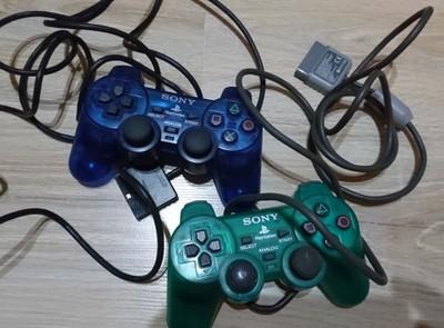 PS2 KONTROLER PAD 4 szt ORYGINAŁ SCPH-10010 i 1200