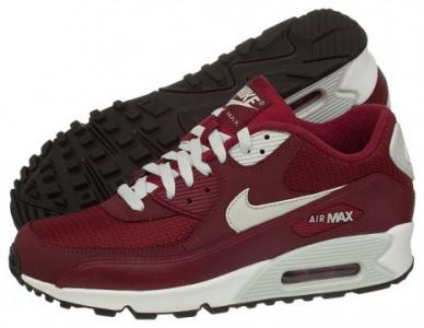 buty nike air max 90 essential bordowe