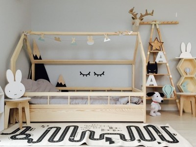 łóżko Domek łóżeczko 160x80 Sosna Różne Kolory 6584230060