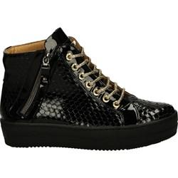 8a00a3bd16b8b trampki VENEZIA sneakers platforma skóra hit - 6372901847 ...