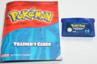 POKEMON SAPPHIRE VERSION GAME BOY GRA OD 1ZŁ