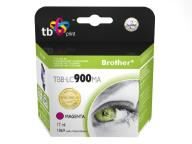 Tusz do Brother LC 900 Purpurowy TBB-LC900MA