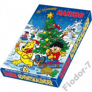 Haribo Kalendarz Adwentowy Z Zelkami Z Niemiec 4695066828 Oficjalne Archiwum Allegro