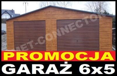 Nowoczesne Garaże Blaszane Drewnopodobne Blaszak 6561675505