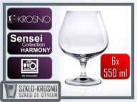 Kieliszki do koniaku brandy KROSNO HARMONY 550 ml