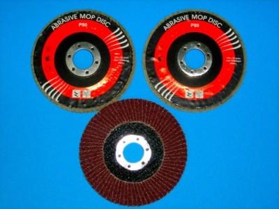 Ściernica listkowa 115 mm gran.100 -kpl 3szt BCM