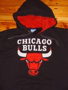 CHICAGO BULLS ADIDAS XL CZARNA BLUZA NBA