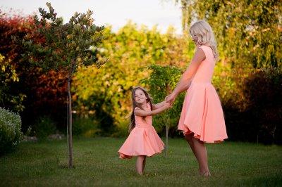 Sukienki Dla Mamy I Córki Zestaw Peach Wish 6411706266 Oficjalne