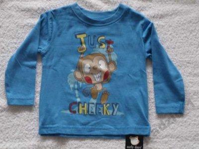 t-shirt bluzka PRIMARK EARLY DAYS 9-12mies 74cm