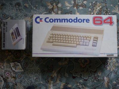 Commodore 64 C64 box dowód zakupu z baltony + deck