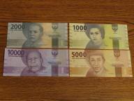 ZESTAW NR 45.INDONEZJA UNC
