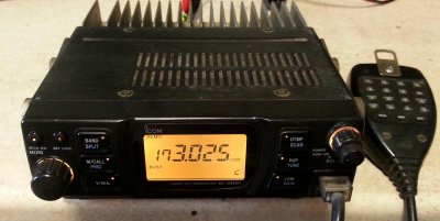 ICOM IC-281H 2 meter mobile FM transceiver - 6361668133