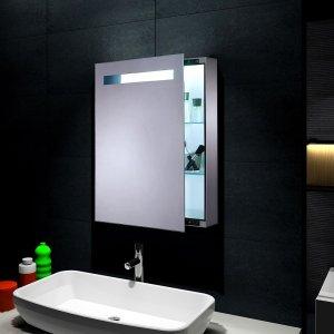 Lustro łazienkowe Szafka Led 45 X 70 Oświetlenie