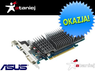 Karta graficzna Asus GeForce GF210 1GB DDR3 Silent