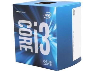 i3 6100 +full box gwarancja ponad 2 lata