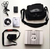 Aparat fotograficzny PENTAX obiektyw +torba gratis