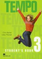 Język angielski. Tempo 3. Student`s Book. Klasa 4-