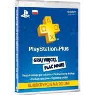 PSN PLAYSTATION PLUS 90 DNI 3 MIES KOD AUTOMAT 24h