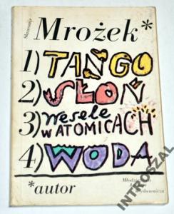 Tango Słoń Wesele W Atomicach Woda Mrożek 2923621094
