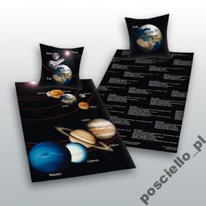 pościel układ słoneczny 140x200 planety SUPER