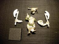 S1 Oldhammer Chaos Minotaur Lord Doombull METAL