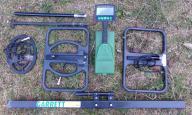 Wykrywacz metali GARRETT CX PLUS +PRZYSTAWKA 2-BOX