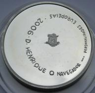 Portugalia 2006r.-8 euro - Henryk Żeglarz-(srebro)